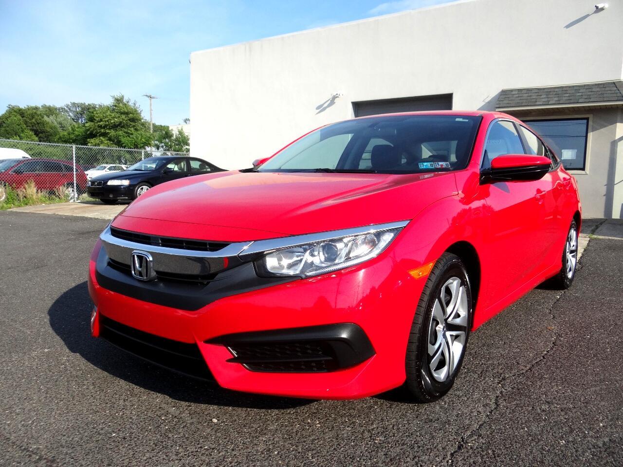 2016 Honda Civic Sedan 4dr CVT LX