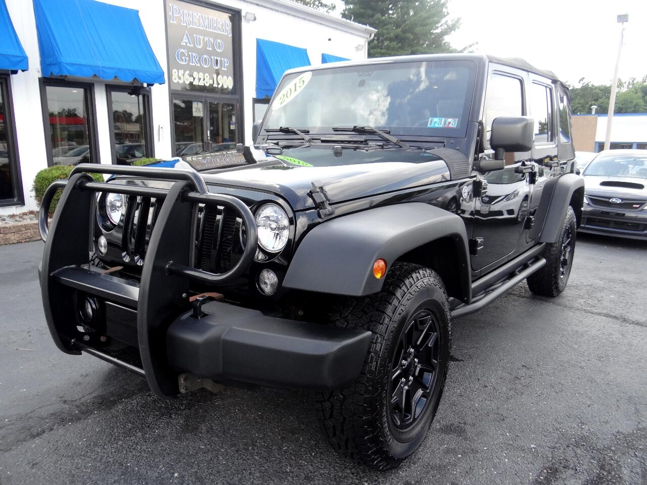 2015 Jeep Wrangler Unlimited 4WD 4dr Freedom Edition
