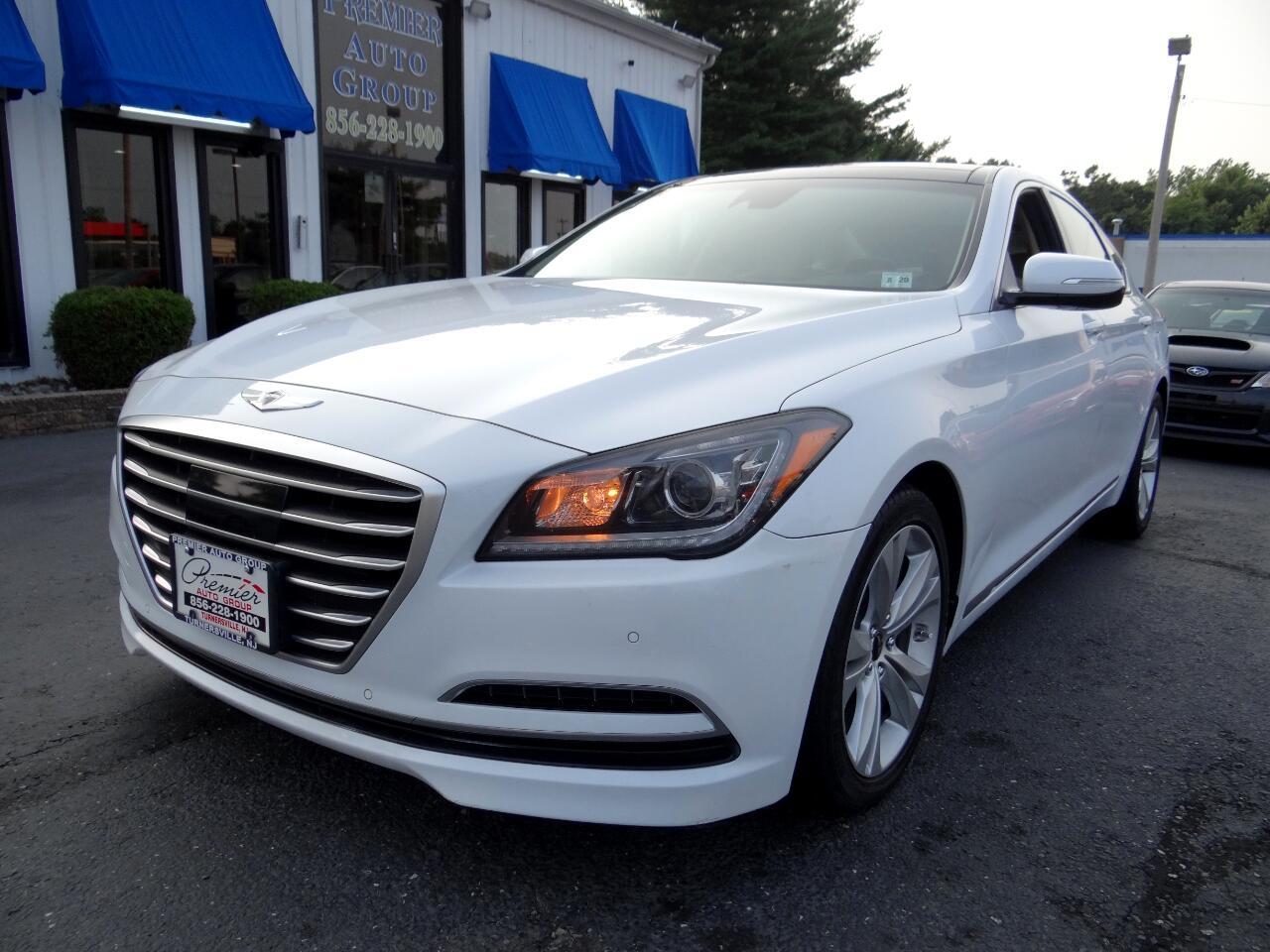 2015 Hyundai Genesis 4dr Sdn V6 3.8L RWD