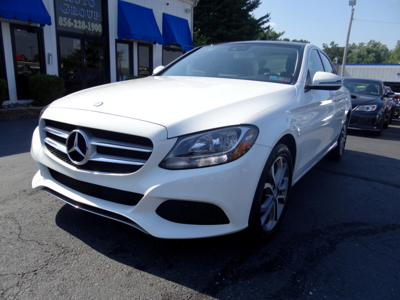 2017 Mercedes-Benz C-Class C 300 4MATIC Sedan with Luxury Pkg