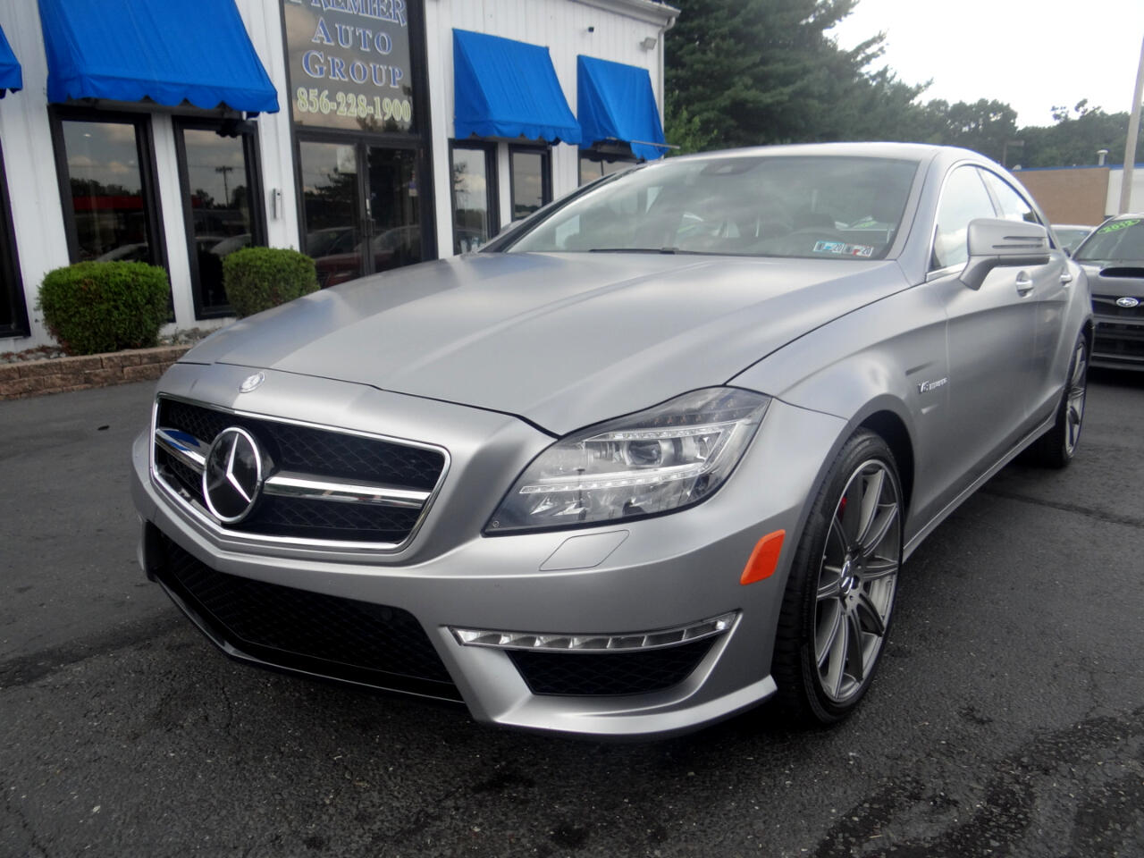 2014 Mercedes-Benz CLS-Class 4dr Sdn CLS 63 AMG S-Model 4MATIC