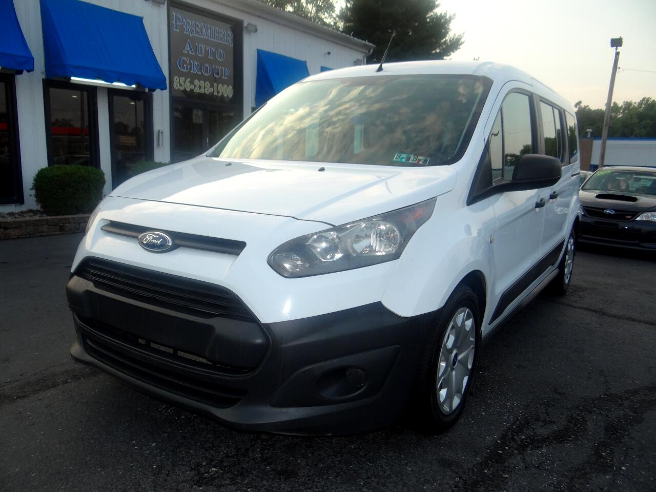 2014 Ford Transit Connect Wagon Extended Passenger Van XL