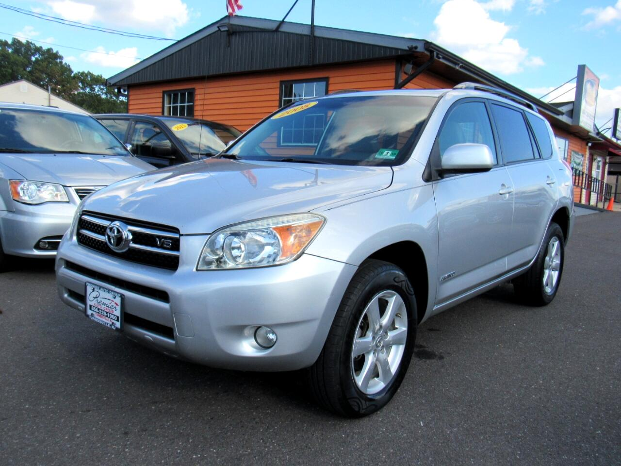 2008 Toyota RAV4 4WD 4dr V6 5-Spd AT Ltd (Natl)