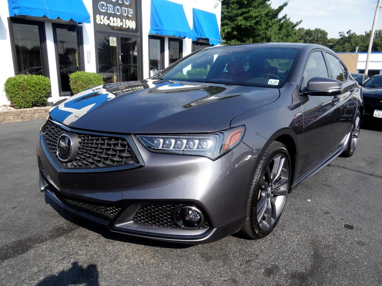 2018 Acura TLX 3.5L FWD w/A-SPEC Pkg