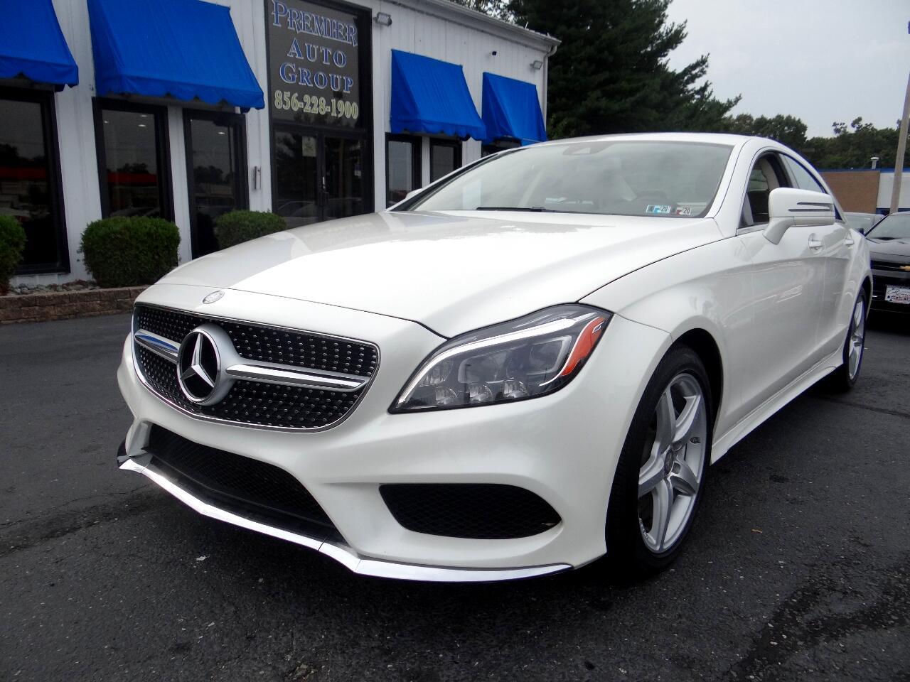 2016 Mercedes-Benz CLS 4dr Sdn CLS 550 4MATIC
