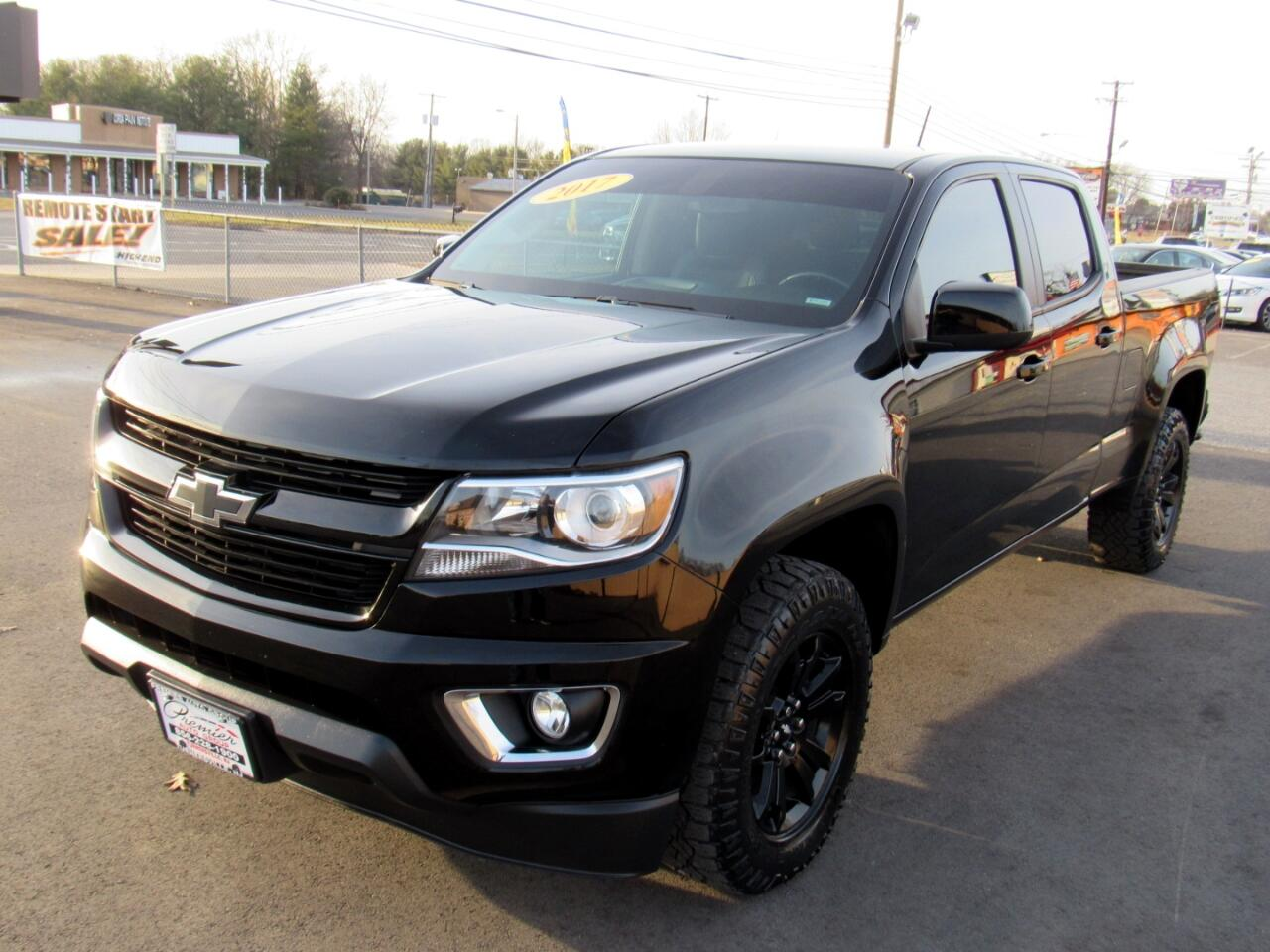 "Chevrolet Colorado 4WD Crew Cab 140.5"" Z71 2017"