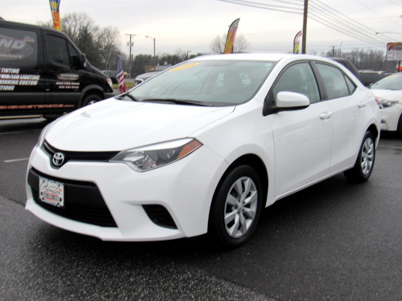 Toyota Corolla 4dr Sdn CVT LE Premium (Natl) 2014