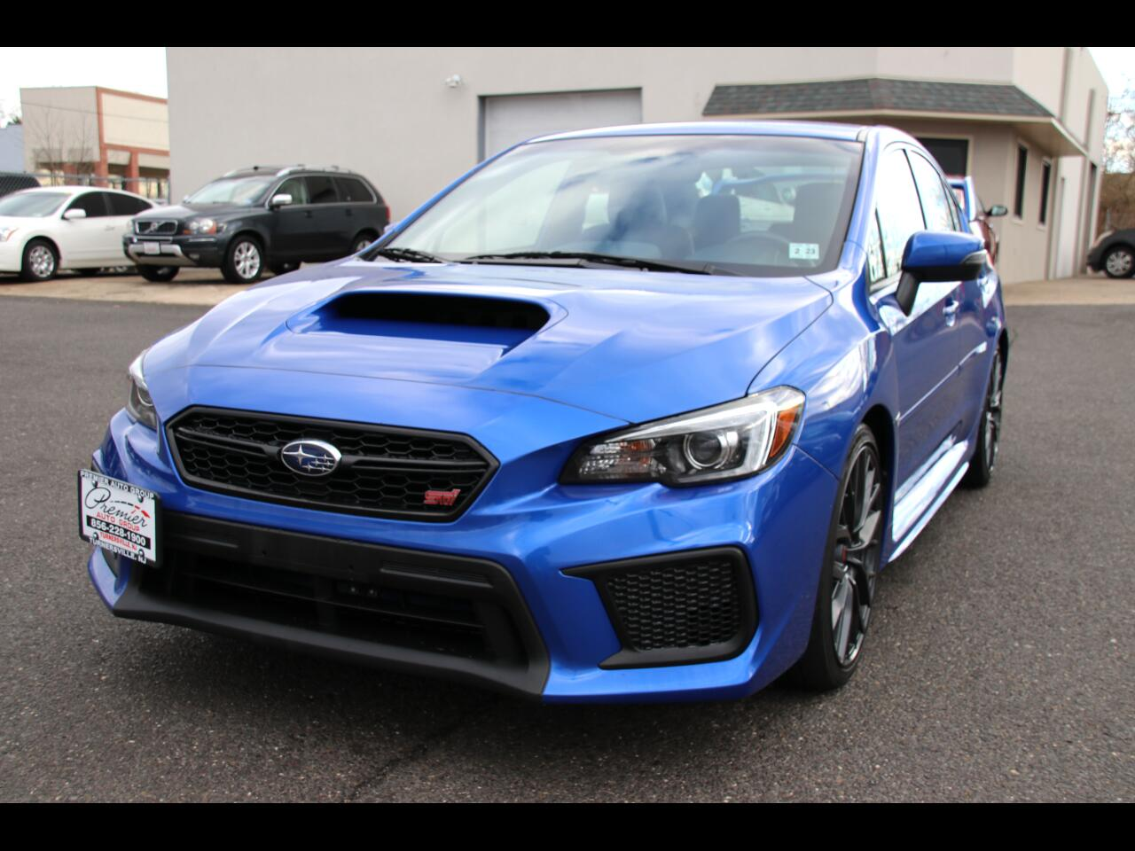 Subaru WRX STI Manual 2018
