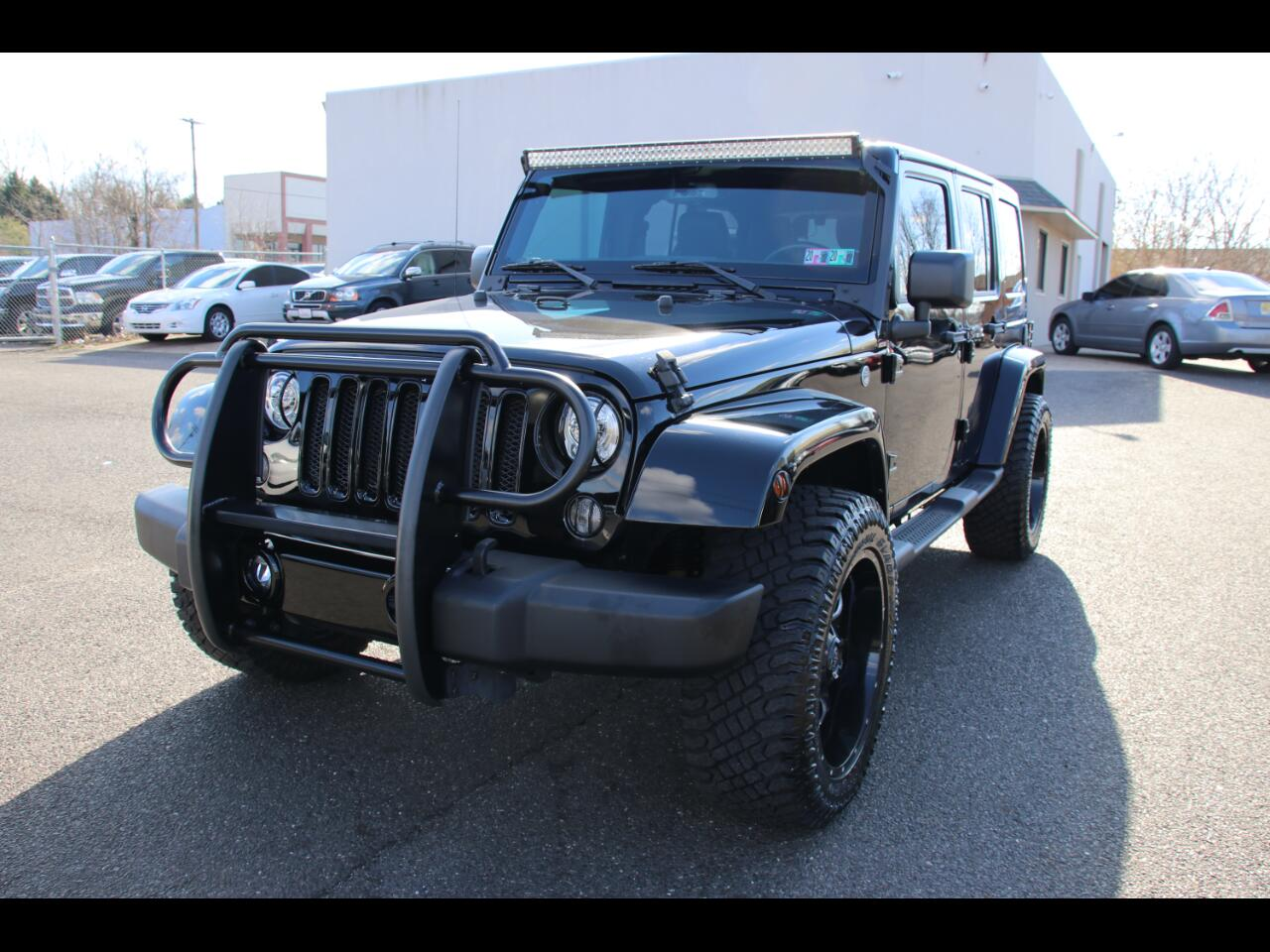 Jeep Wrangler JK Unlimited Sahara 4x4 2018