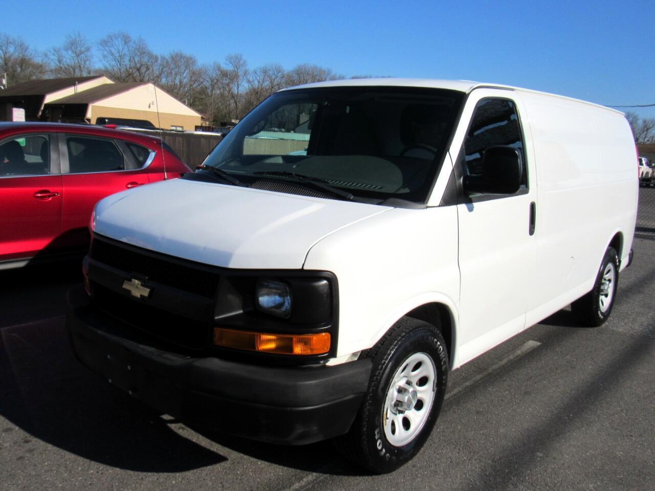 "Chevrolet Express Cargo Van 2500 155"" WB RWD 2012"
