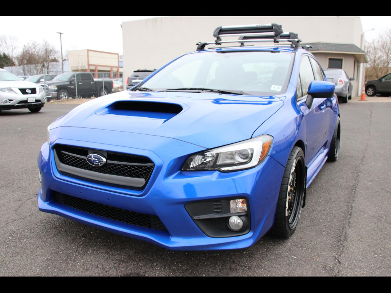 Subaru WRX Limited Manual 2017
