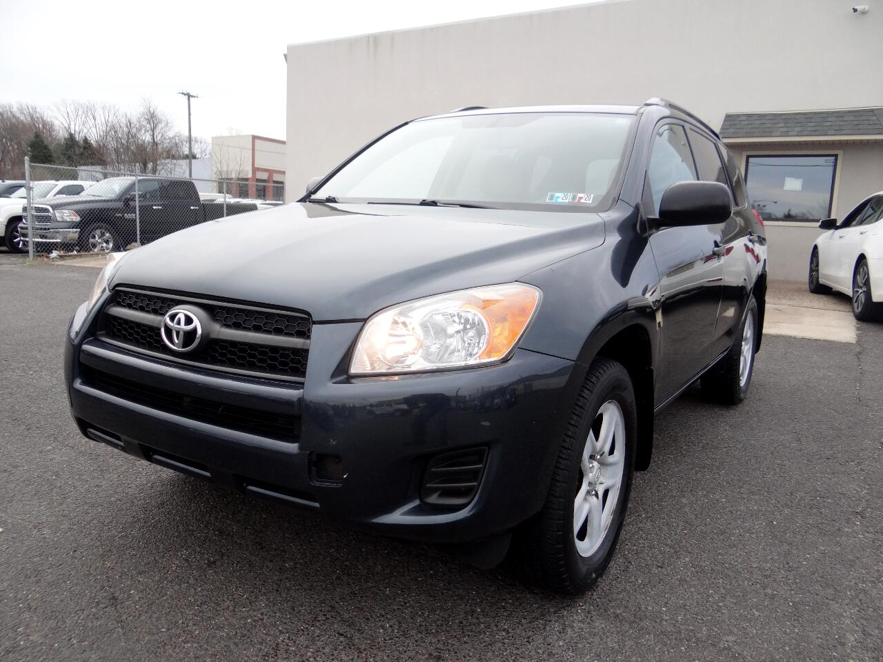 Toyota RAV4 4WD 4dr 4-cyl 4-Spd AT (Natl) 2010
