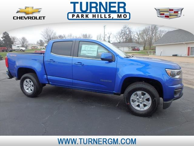 Chevrolet Colorado Work Truck Crew Cab 4WD Short Box 2020
