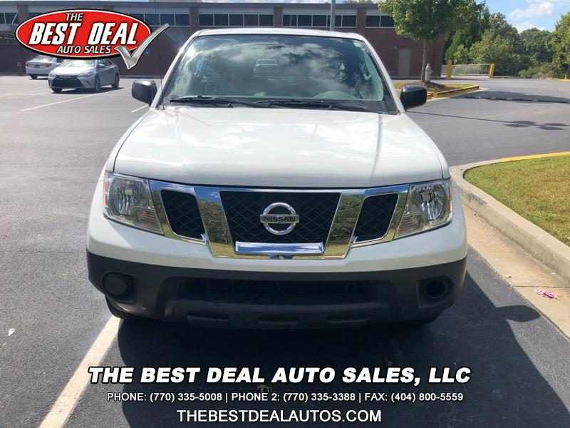 2016 Nissan Frontier S King Cab 5AT 2WD