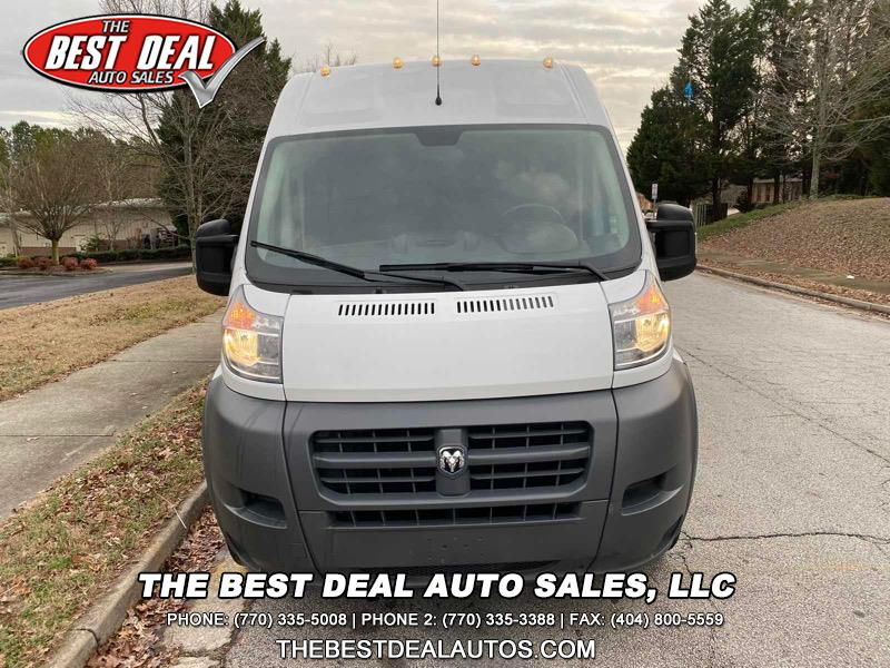 RAM Promaster 3500 High Roof Tradesman 159-in. WB Ext 2015