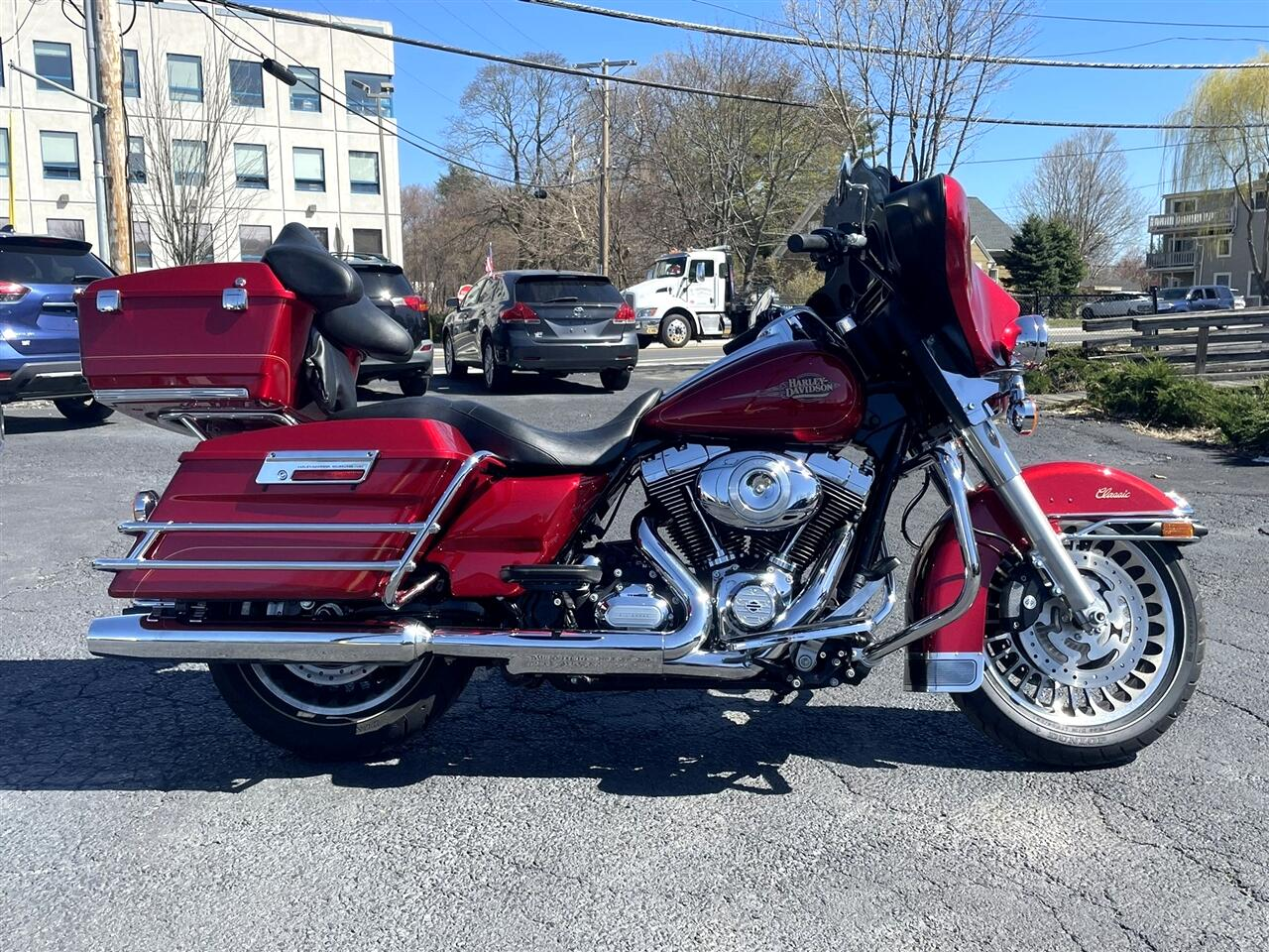 Harley-Davidson FLHTC  2012