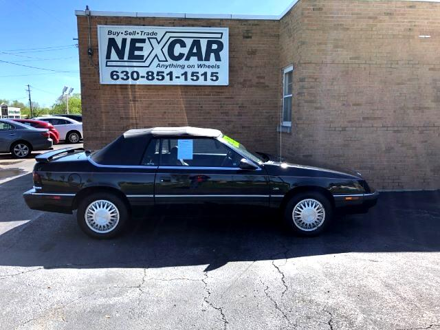 1992 Chrysler LeBaron LX Convertible