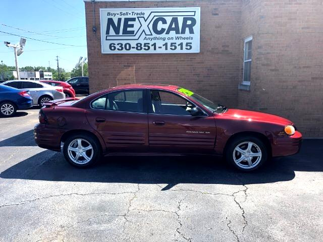 2002 Pontiac Grand Am SE1 sedan