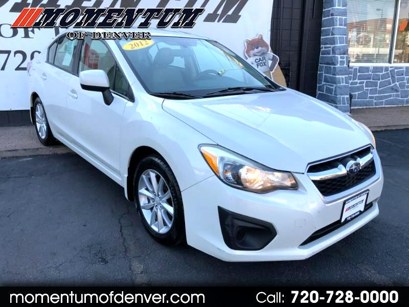 2012 Subaru Impreza Premium 4-Door w/All Weather Package