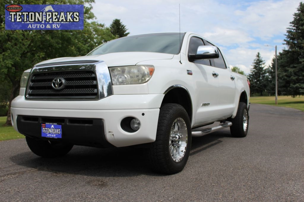 Toyota Tundra CrewMax 5.7L V8 6-Spd AT LTD (Natl) 2008