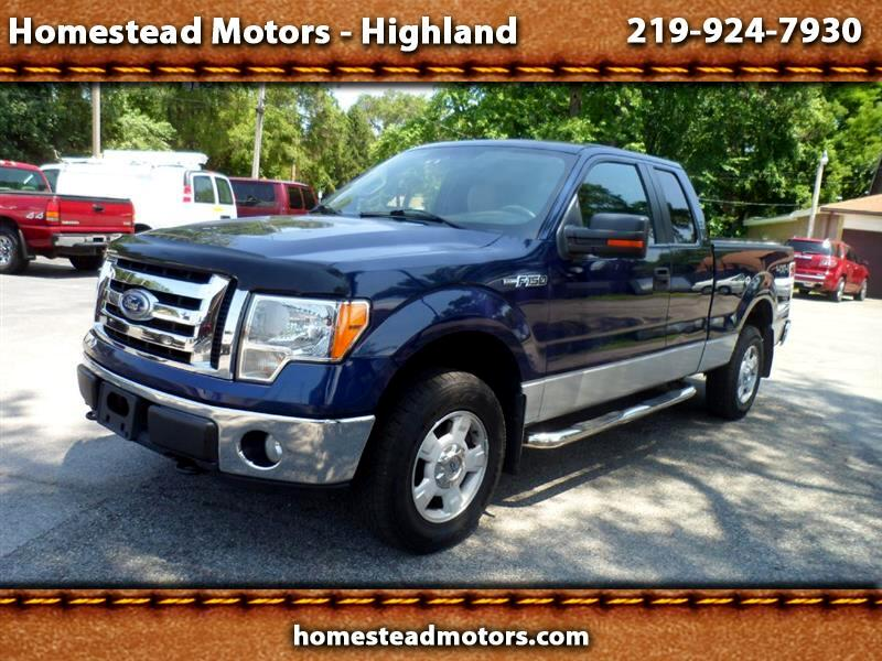 2010 Ford F150 XL SuperCab 8-ft. Bed 4WD