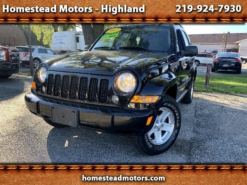 Jeep Liberty Sport 4WD 2007