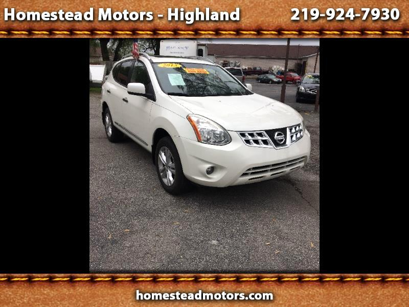 Nissan Rogue S AWD 2013