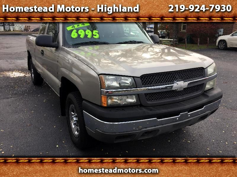 Chevrolet Silverado 1500 Ext. Cab Long Bed 4WD 2003