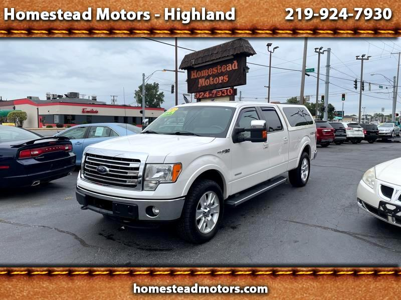 Ford F150 XL SuperCrew 5.5-ft. Bed 4WD 2013