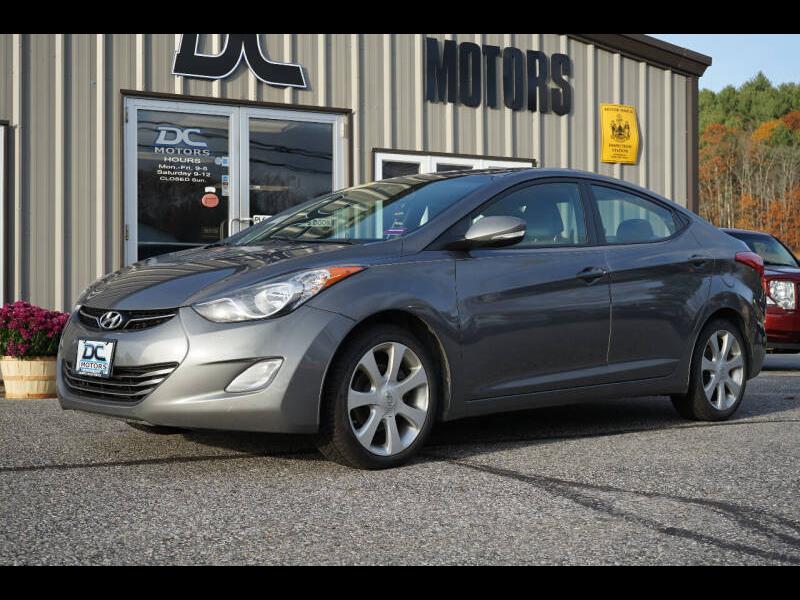 Hyundai Elantra GLS A/T 2012