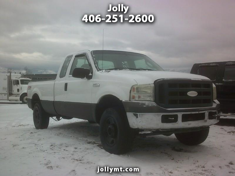 2005 Ford F250 XL SuperCab 4WD