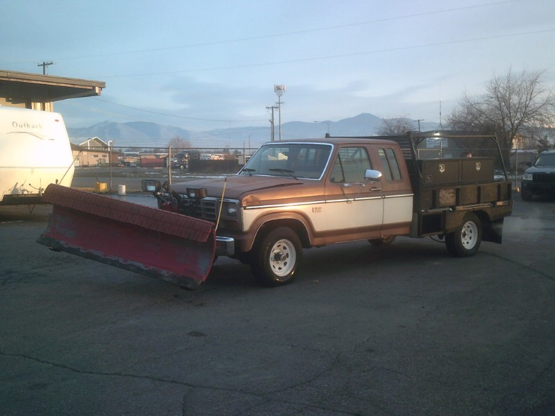 1985 Ford F150 SuperCab 4WD