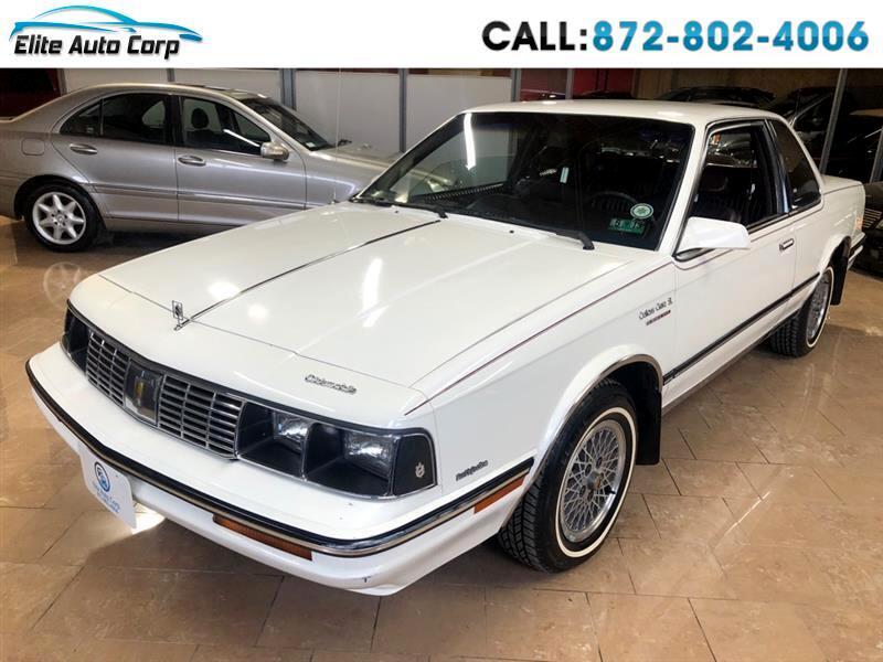 1986 Oldsmobile Cutlass Ciera SL coupe