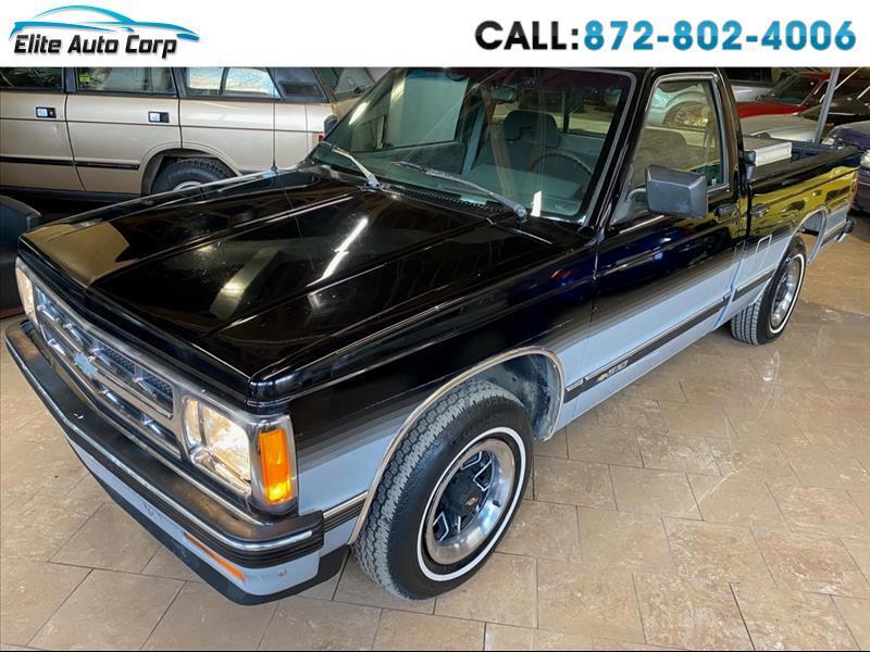 Chevrolet S10 Pickup Reg. Cab Short Bed 2WD 1993