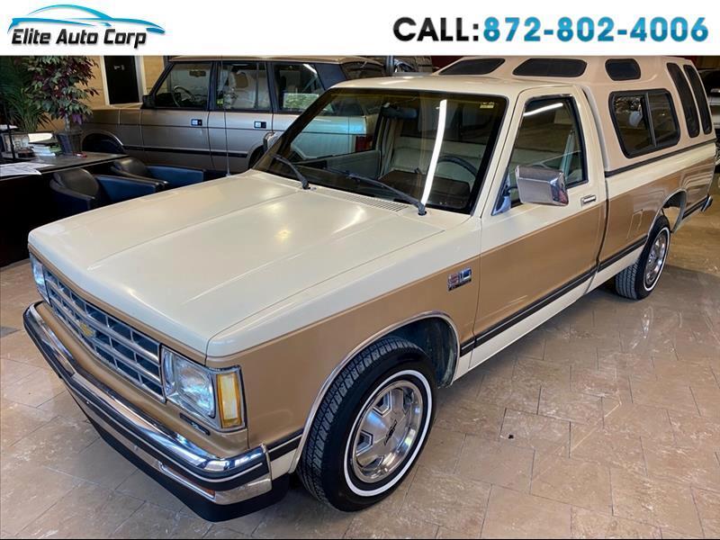 Chevrolet S10 Regular Cab 2WD 1986