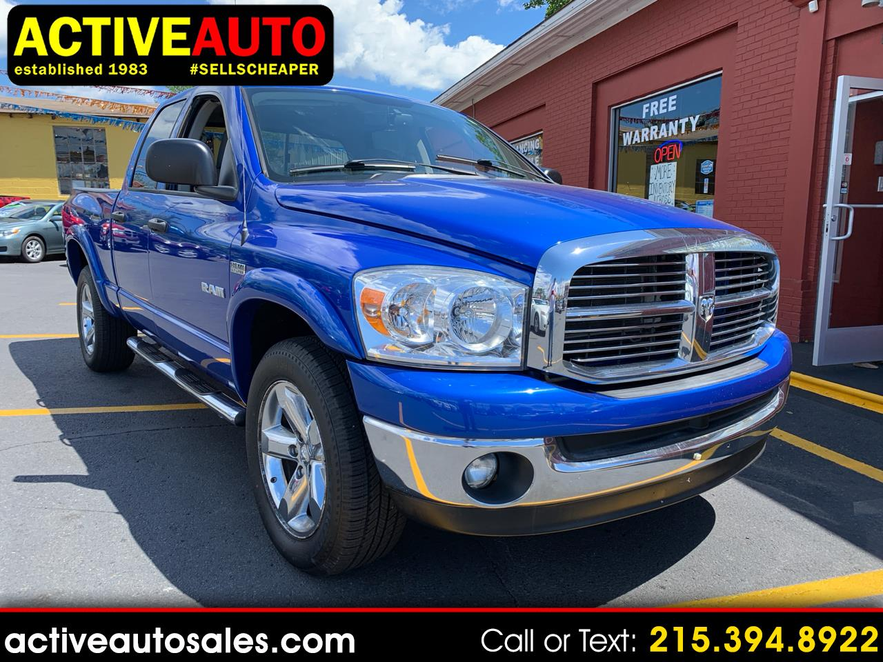 2008 Dodge Ram 1500 Big Horn Quad Cab 4WD