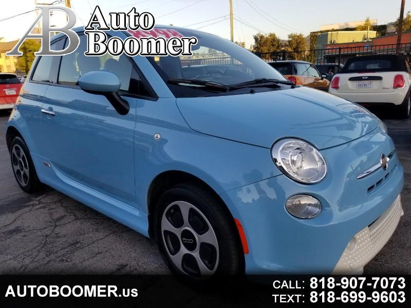Fiat 500e 2dr HB BATTERY ELECTRIC 2017