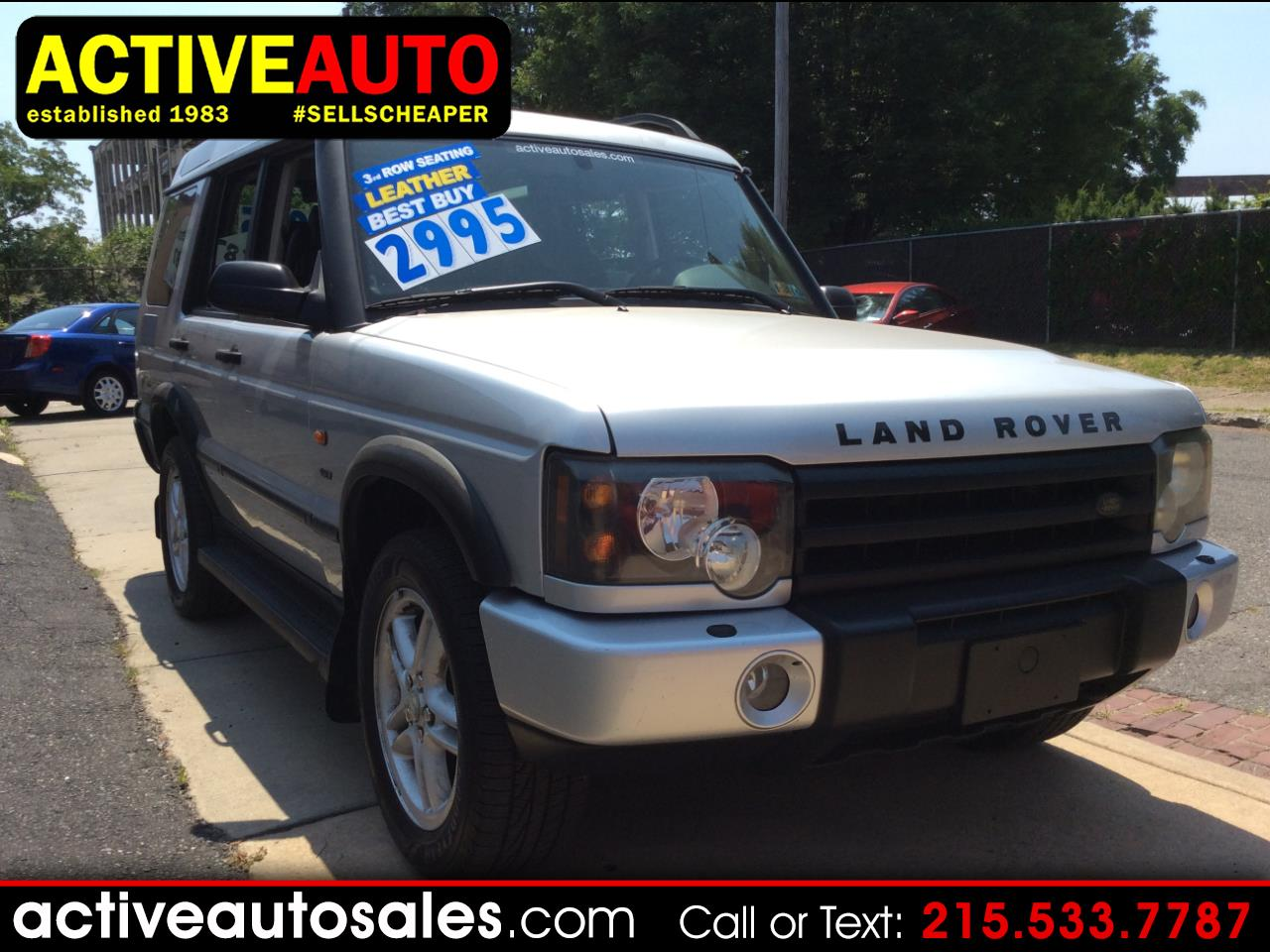 Land Rover Discovery 2003 for Sale in Philadelphia, PA