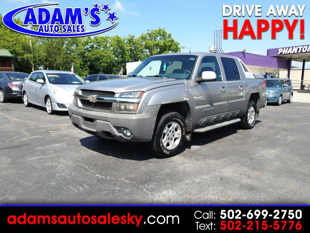 2002 Chevrolet Avalanche LT 4WD
