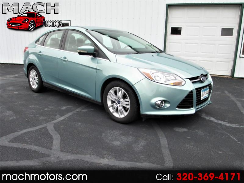 Ford Focus SEL Sedan 2012