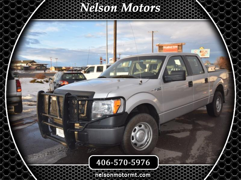 Ford F-150 XL SuperCrew Short Bed 4WD 2014