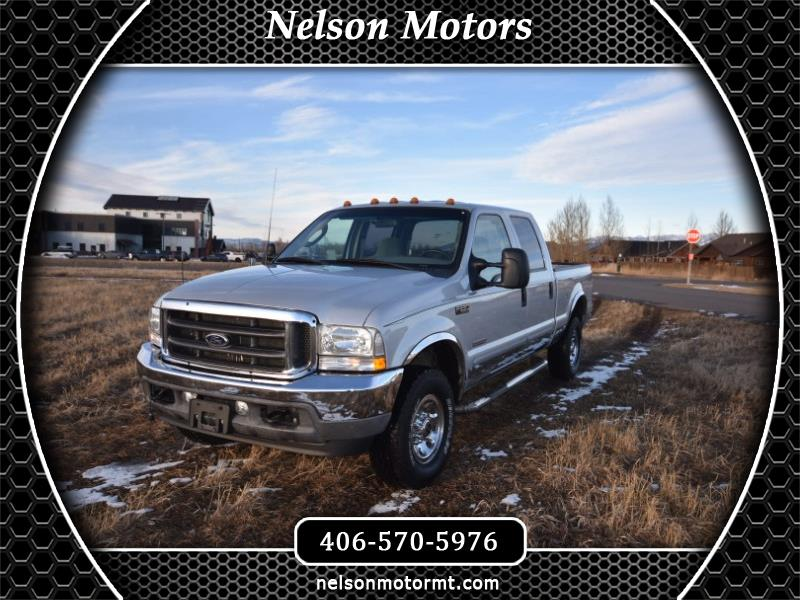 Ford F-250 SD XLT Crew Cab 4WD 2003