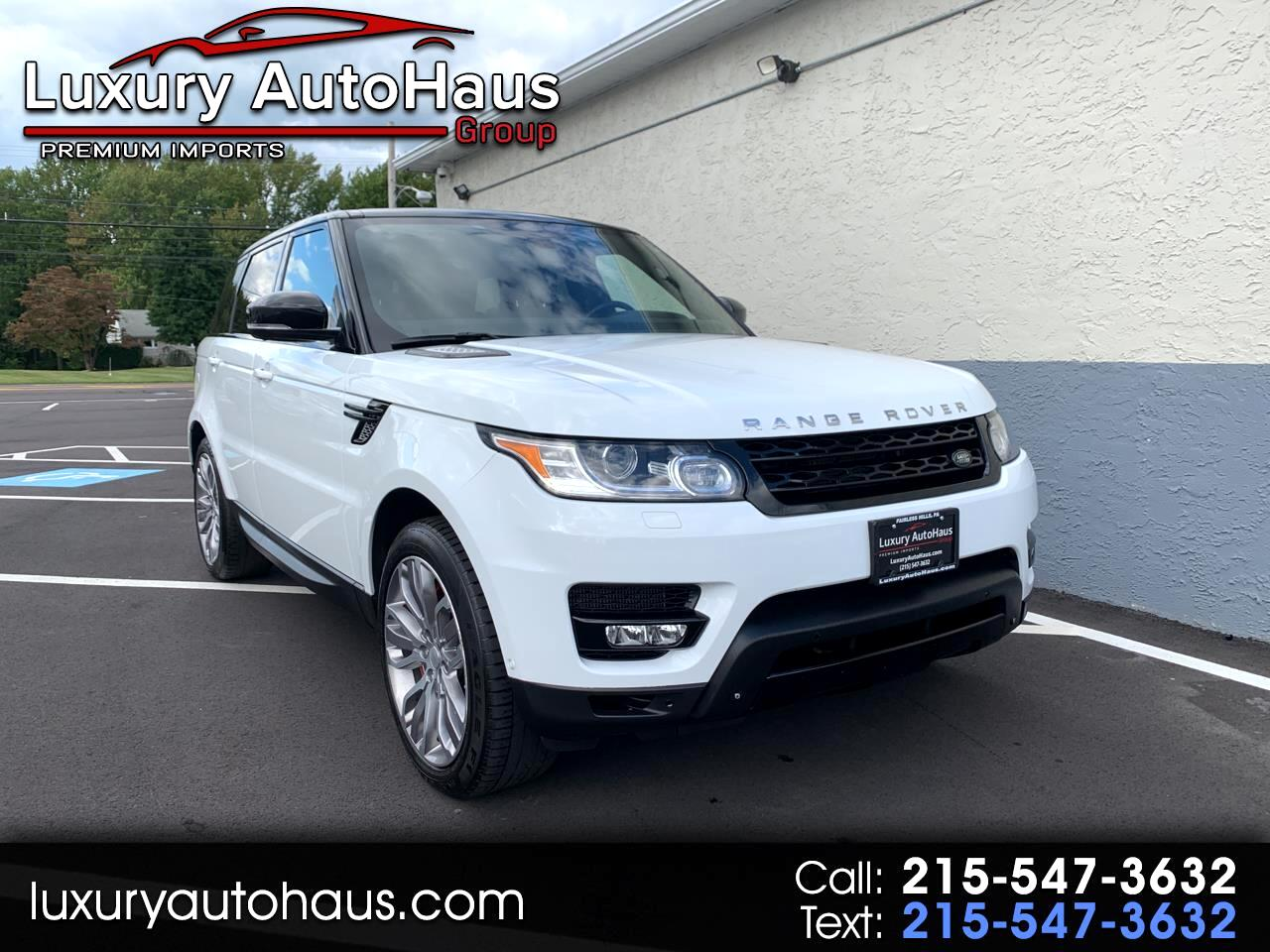 2014 Land Rover Range Rover Sport 4WD 4dr Supercharged