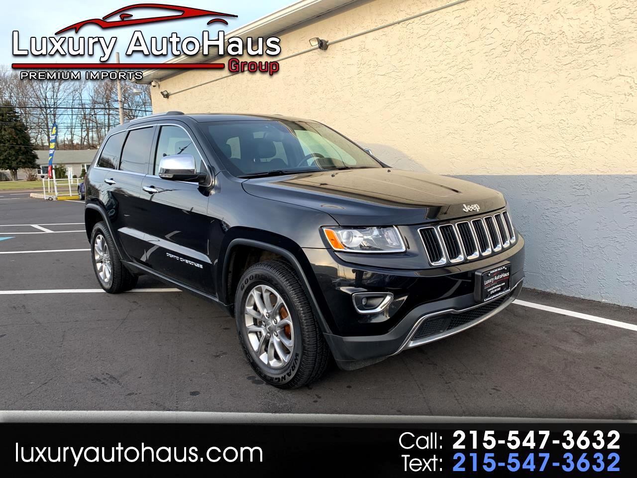 2014 Jeep Grand Cherokee Limited 4WD, Diesel