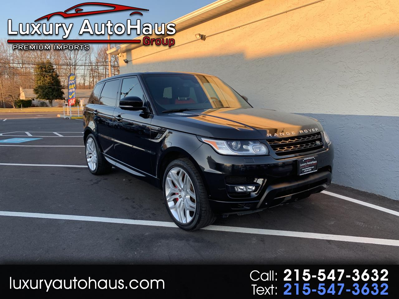 2014 Land Rover Range Rover Sport 4WD 4dr Autobiography