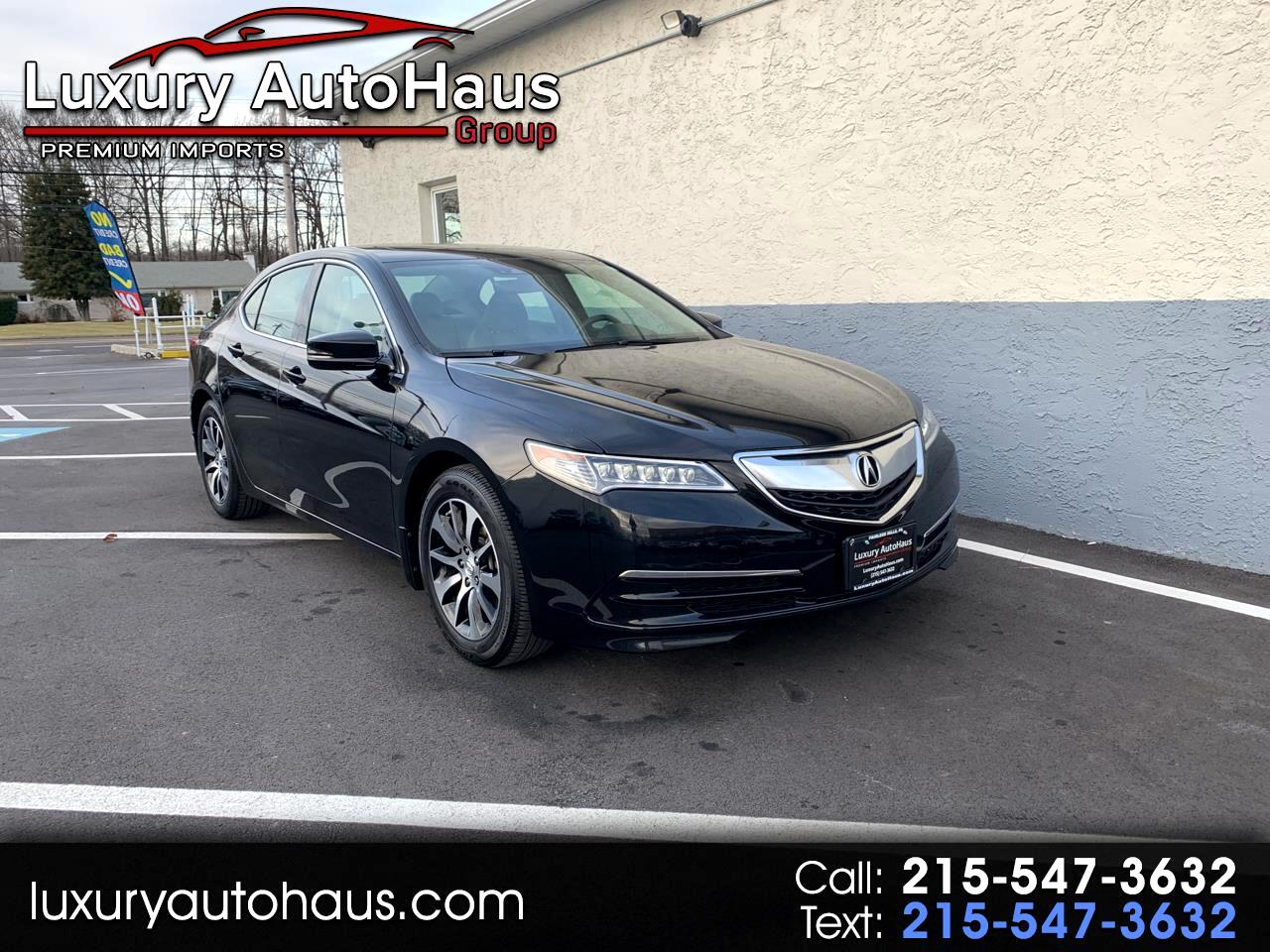 2017 Acura TLX FWD w/Technology Pkg
