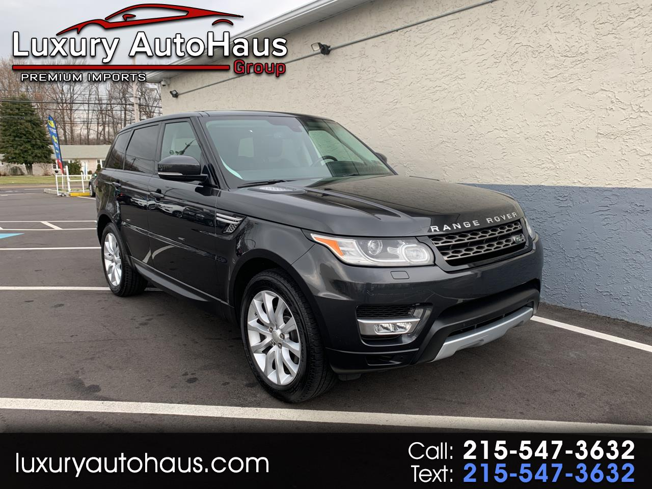 Land Rover Range Rover Sport 4WD 4dr HSE 2015
