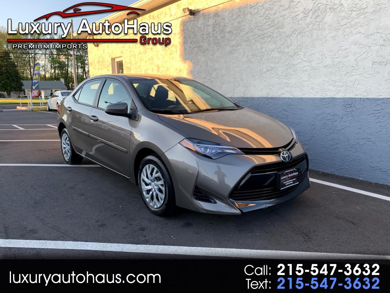 Toyota Corolla LE CVT (Natl) 2017