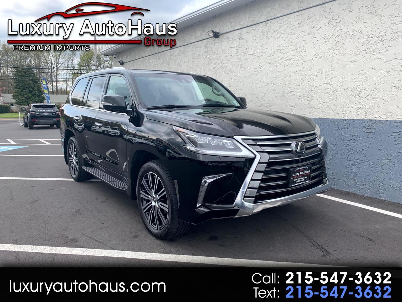 Lexus LX 570 Three-Row 2018