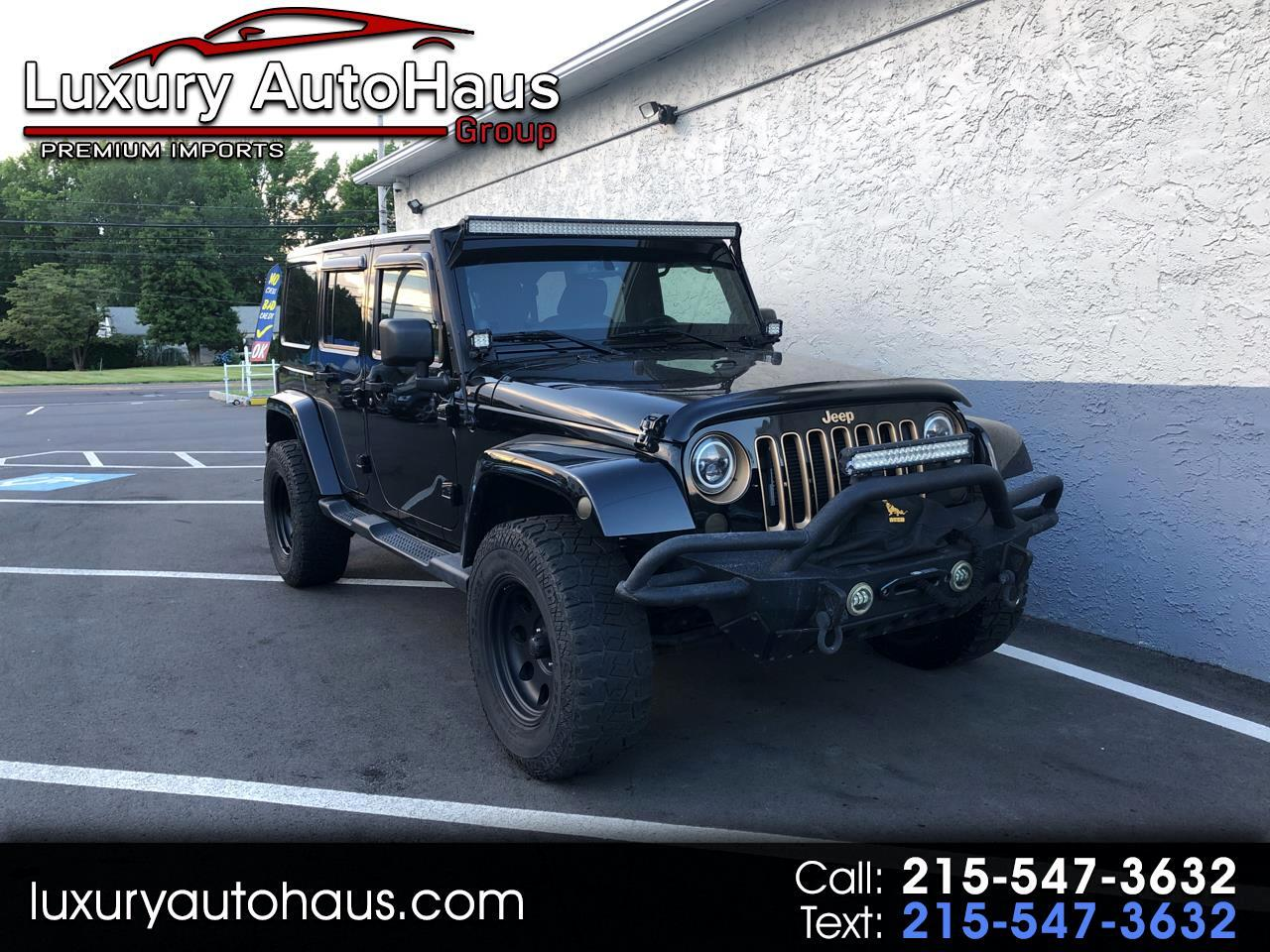 Jeep Wrangler Unlimited 4WD 4dr Dragon Edition *Ltd Avail* 2014